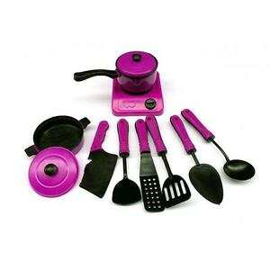 Image Is Loading Fad 1Set Kids Play Toy Kitchen Utensils Pots