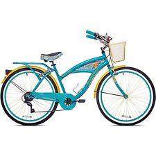 "26"" Women's Margaritaville 7 Speed Cruiser Bike Beach Island Bicycle Steel Frame"