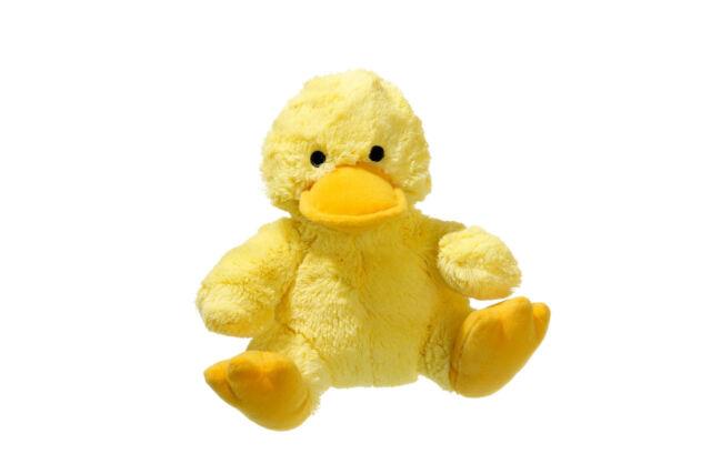 Karlie Plüsch Ente Gaggi Plüschspielzeug für Hunde 19 cm gelb
