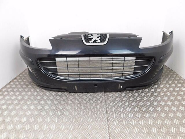 08 Peugeot 407 Front Complete Bumper In Black Colour Code KTVD