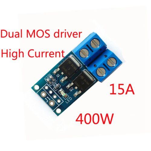 High Power 15A 400W MOS-Trigger-Schalter Drive Module PWM-Regler DC 5V-36V ED
