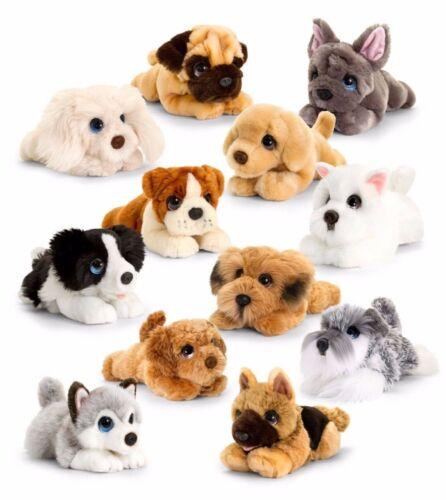 CUDDLE PUPPIES COCKAPOO PLUSH SOFT TOY DOG 25CM STUFFED ANIMAL KEEL TOYS