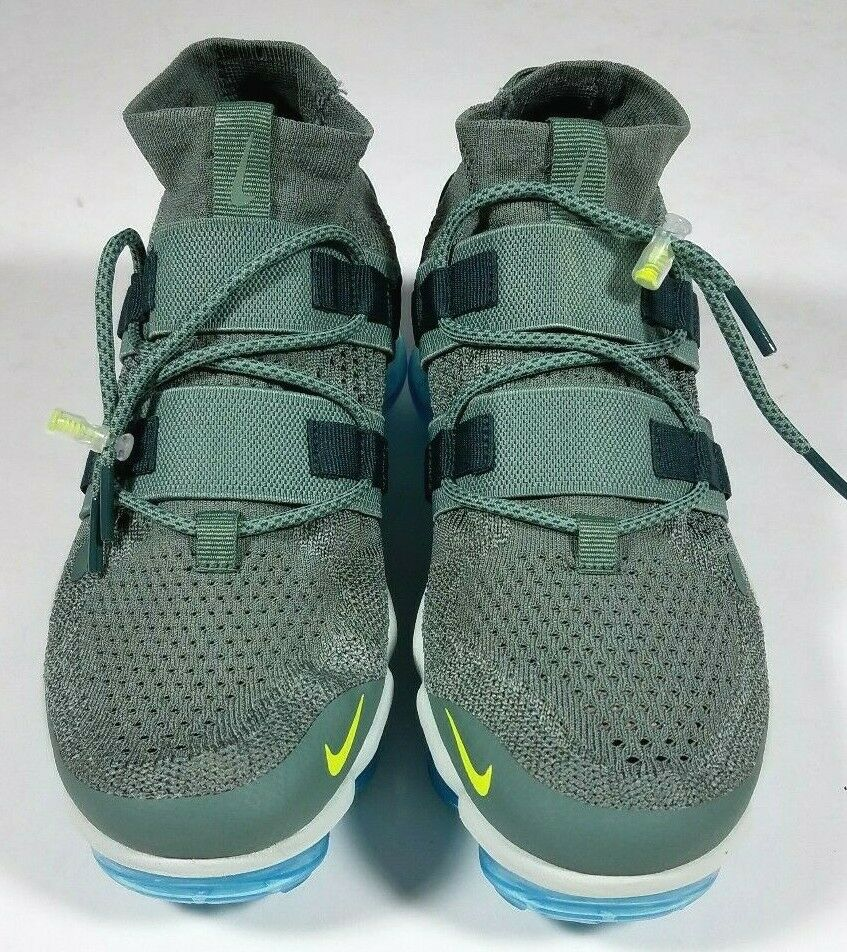NIKE Fly Knit Green Vapormax Utility Sneakers shoes - size 7.5