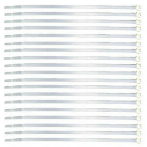 White 4 Inch Cable Ties 1000 Pieces Closeout Special!