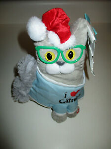 Gemmy-Christmas-Epic-Kitties-Cat-034-i-Love-Catnip-034-Singing-amp-Dancing-Model-889840