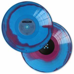 Coraline Original Motion Picture Film Blue Purple Vinyl Soundtrack 2 Double Lp Ebay