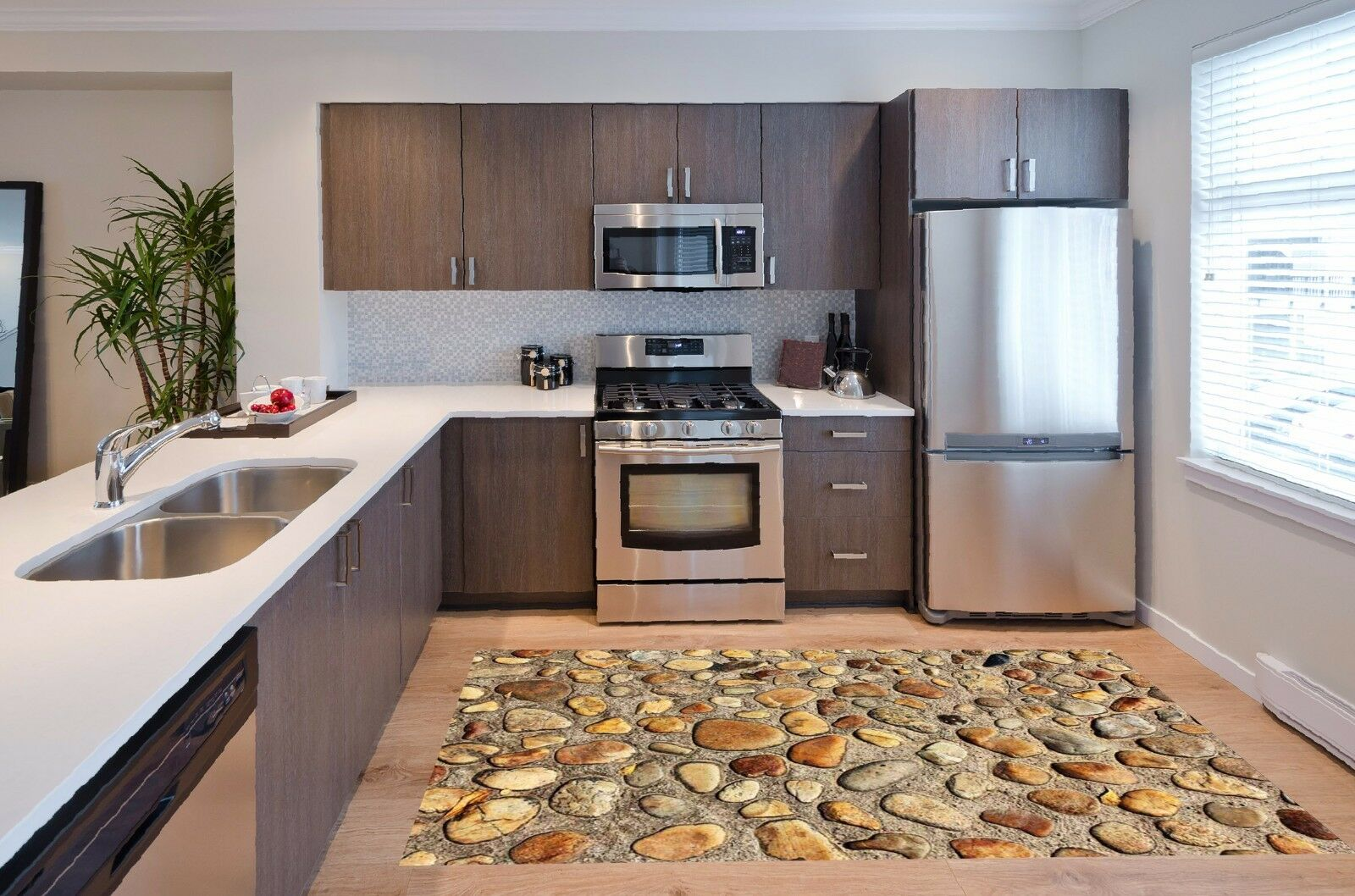 3D Stone Texture 88 Kitchen Mat Floor Murals Wall Print Wall Deco UK Carly