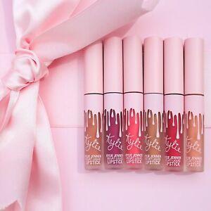 Kylie-BIRTHDAY-Mini-Velvet-Liquid-Lipsticks-set-of-6-0-02-oz-Each-100-Original