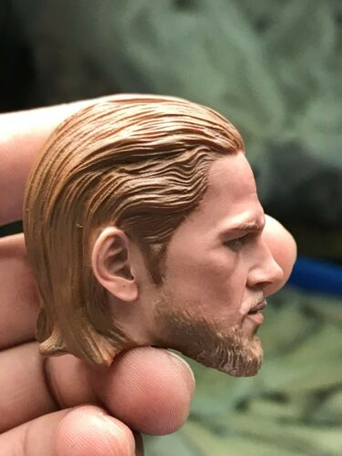 Charlie Hannham 1//6 Soldier Head Carving The Son of the American Drama Toys GIFT