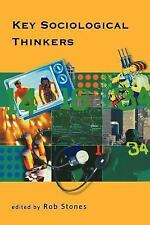 Key Sociological Thinkers (1998, Paperback)