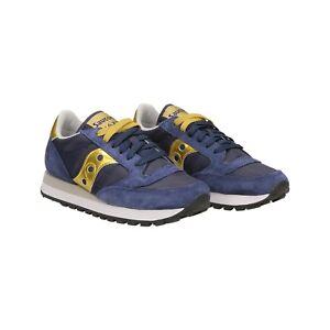 d3b859328647b 1044 Donna Saucony Scarpe Jazz Ebay Art Sneakers Gold Blue 462 x74wUn0