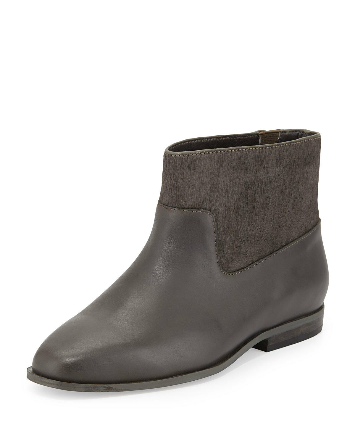 Saint & Libertine Trinket Calf Hair Ankle Boot, Slate SIZE 8.5 M