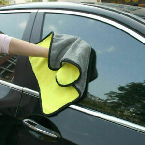 Car Wash Microfiber Towel Auto Cleaning Drying Cloth Hemming Super Absorbent L^Y
