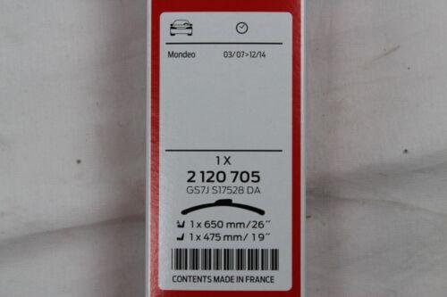 2120572 ORIGINALE TERGICRISTALLO fogli ANTERIORE POSTERIORE FORD MONDEO STATION WAGON mk4 2120705