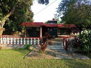 Hermosa casa de campo Canticas, frente al aeropuerto Minatitlán