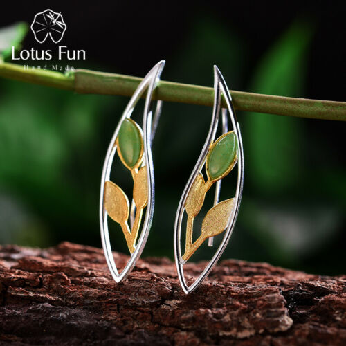 Unique Handmade Multi-Color Spring in the Air Leaves Long Drop Earring for Women