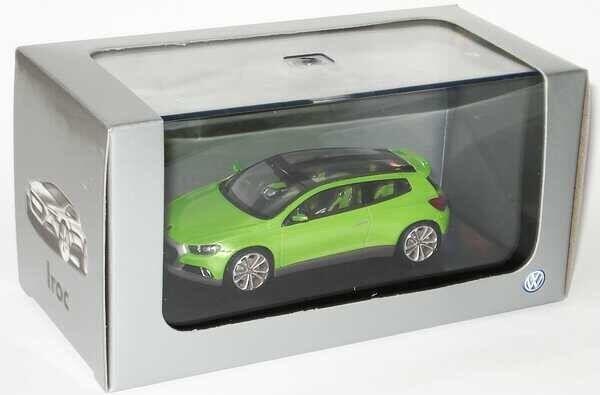 RARE  VW IROC SCIROCCO R 2.0T 2009 VIPER vert CONCEPT 1 43 NOREV (DEALER MODEL)  plus d'escompte