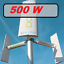 Indexbild 13 - Windkraft-Windgenerator-DM-500-750-1000W-windkraftanlagen-Rotorblaetter-vertikale