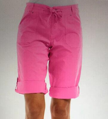 FRESH PRODUCE 2X Washed KHAKI Beige Key Largo Pedal Pushers Shorts NWT New 2X