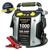Battery Jump Starter Air Compressor Peak Portable Car Charger Booster Stanley Us