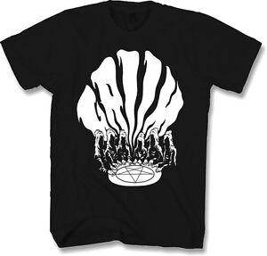Mens-Metal-T-Shirt-Small-Horror-Gothic-Occult-Reaper-Pentagram
