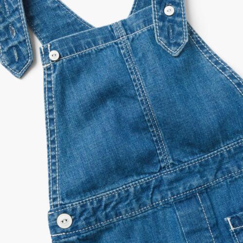 12-18 MONTH NEW GYMBOREE Baby Girl/'s DENIM Blue PRAIRIE FADE MEDIUM OVERALLS
