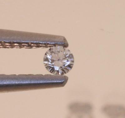 3.3mm .14ct each individual melee loose round diamond estate SI2-3 G-H approx
