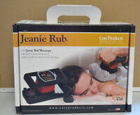 Jeanie Rub 3401 Morfam Variable Speed Massager Back Massage With Warranty