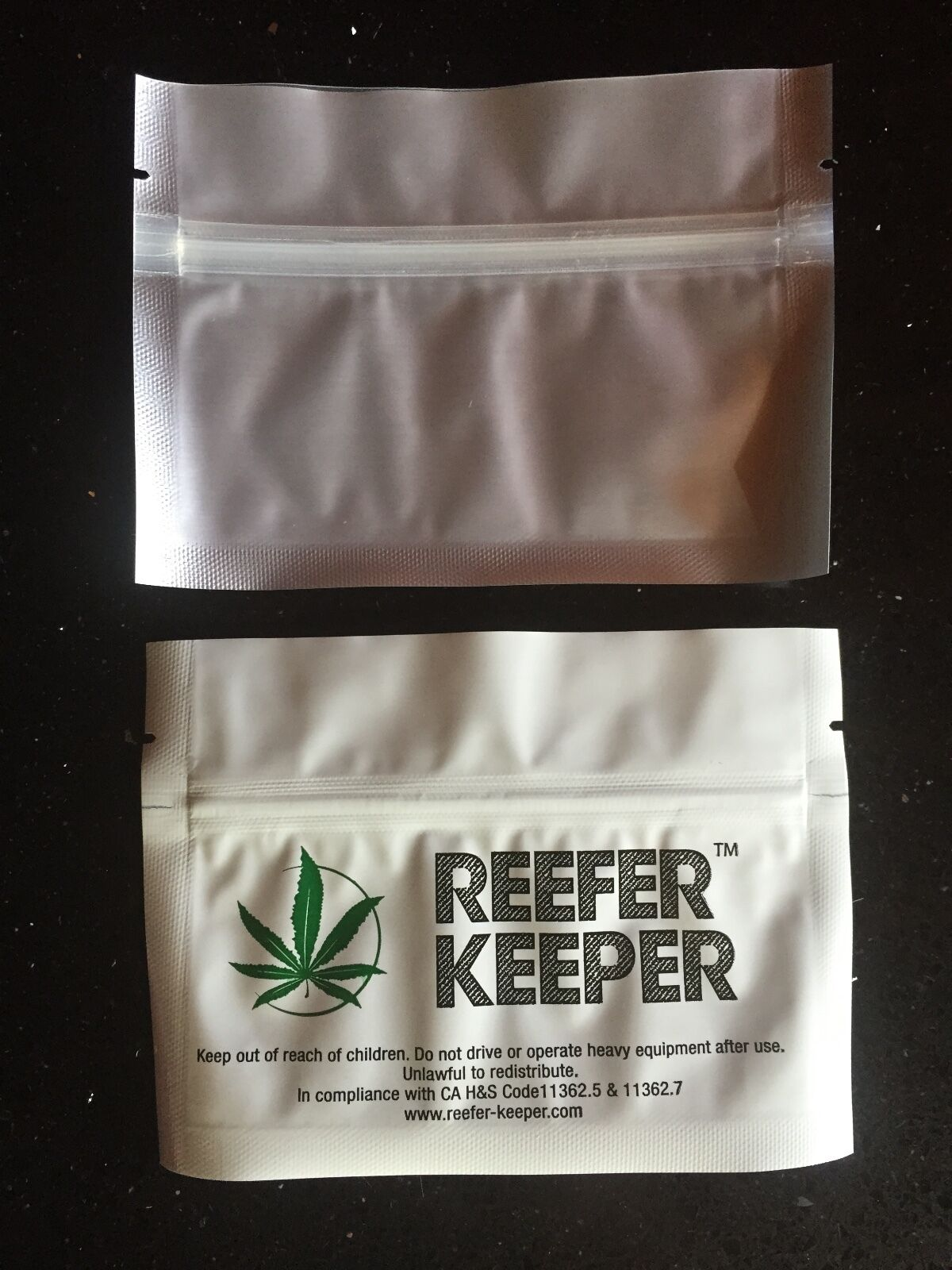 "12 Pack New 5 1//2/"" x 4/"" Smell Proof Bags//Stink Proof Container Weed Bag"