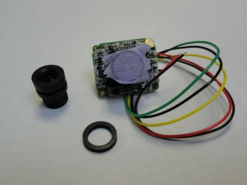 "Omron board Camera 26 x 22mm 1//4/"" Color CCD NTSC 30fps 59.94Hz STC-N64L Sentech"
