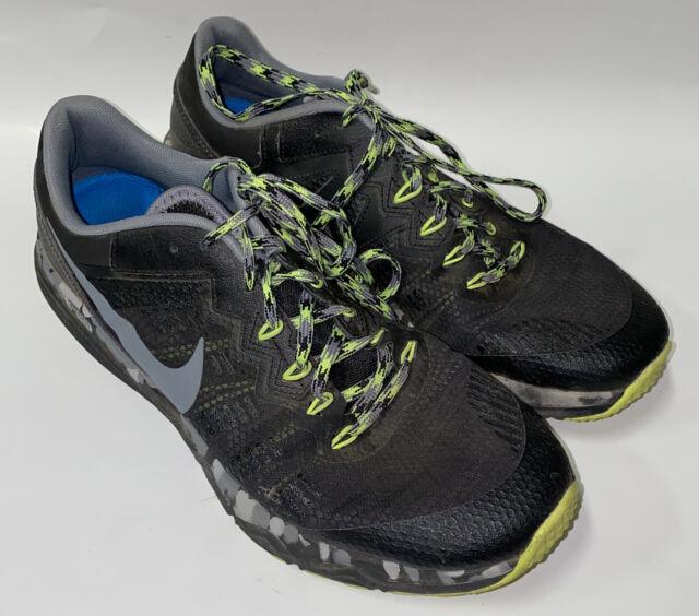 Armada algun lado canta  Nike Dual Fusion Trail 2 Men US 13 Black Trail Running Pre Owned 1941 for  sale online | eBay