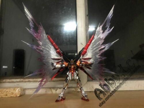 for RG 1//144 Destiny Gundam Mirage Colloid System Wing of Light Effect Part+Base