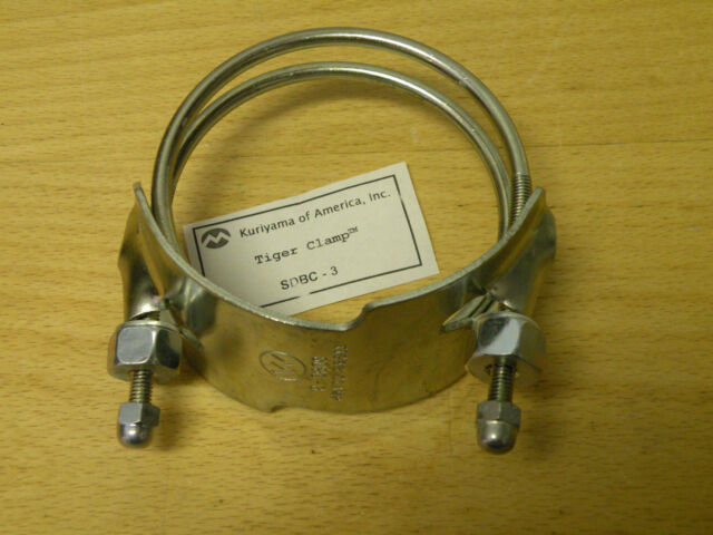 Spiral Double Bolt Hose Clamp Kuriyama of America 4 Hose 20 Pack