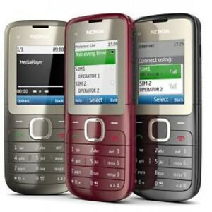 Nokia-C2-00-Sans-SIM-Camera-Bluetooth-debloque-Boxed