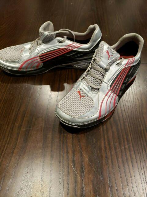 Puma L.I.F.T. Lift Racer Shoes Sneakers SilverRedBlack Rare! Size 11!