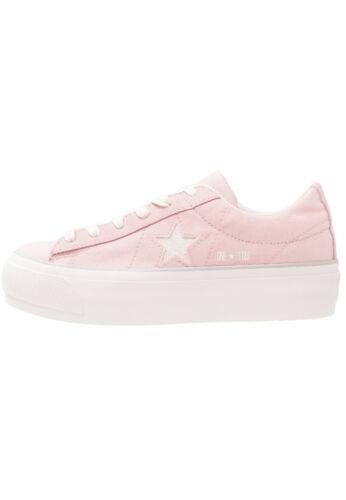 Donna One Col Platform Art Sneakers Converse Star Rosa 560987c PzIfxqqHw