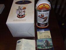 2006 anheuser-busch Budweiser Membership stein cb36 lidded stein complete in box