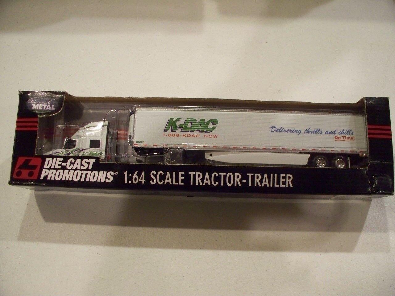 K-DAC DCP 32607 Tracteur Remorque Nouveau Diecast camion