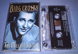 BING-CROSBY-THE-MILLION-SELLERS-cassette-tape-album-T6223