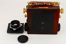 NEAR MINT Wista Filed 45 DX Rose 4x5 w/Nikkor-W 150mm f5.6 from japan #786