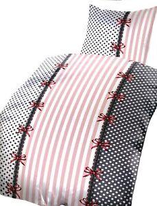 155x220 cm Microfaser-Bettwäsche