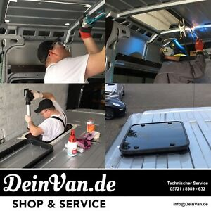Premium-Glas-Dachluke-fuer-Mercedes-Sprinter-inkl-Montage-Dachhaube-no-Dometic