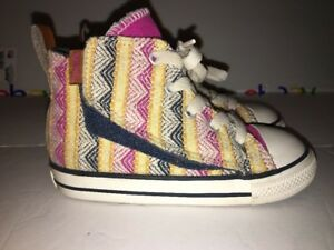 6a38b544fd0e Converse Kids Chuck Taylor All Star Hi top Plastic Pink Multi Color ...