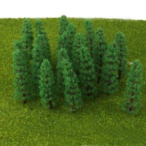 60Pcs-9cm-3-54-039-039-Fir-Models-Tree-for-Green-Railroad-Graden-Street-Layout-Toy