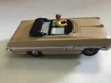 Atlas 1962 Oldsmobile Star fire Convertible Tan Slot Car