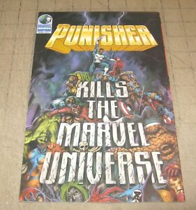 PUNISHER KILLS THE MARVEL UNIVERSE (Nov 1995) VF Condition TPB Comic - 1st Print