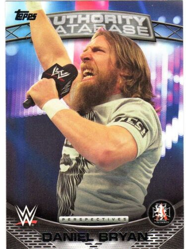 2016 Topps WWE Authority Anti-Authority Perspectives Inserts Pick Cards