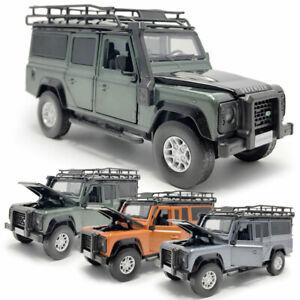 Land-Rover-Defender-Off-road-1-32-Die-Cast-Modellauto-Spielzeug-Model-Sammlung