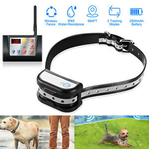 Wireless Dog Fence No Wire Pet Containment System
