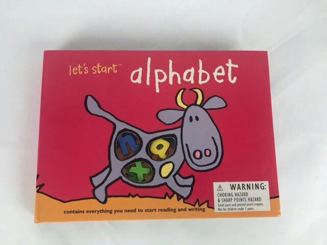 Let's Start Alphabet by Silver Dolphin Ages 4+ Educational School NEW